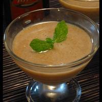 Tiffin&柿ソース入り豆乳プリン
