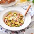【アメリカ料理】芽キャベツとナッツのピリ辛ビネガーサラダ♡USA簡単おつまみレシピ♪