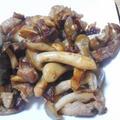 牛肉としめじの炒め物