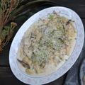 Gnocchi with Creamy Mushroom Source クリームマッシュルームソースのニョッキ
