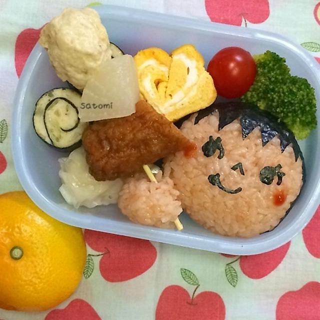 幼稚園弁当☆ジジョ太のおでんは静岡系~♫ キャラ弁(*´∀`) {♫