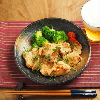 鶏むね肉の明太子焼き、作り方動画