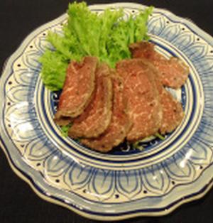 牛肉は必須アミノ酸の宝庫です。 「あっという間にできちゃうローストビーフ」
