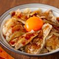 炊飯器のスイッチ押すだけ! 「炊いたら豚丼」の簡単・時短レシピ
