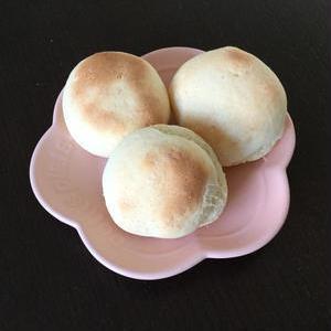発酵不要!「白玉粉とホットケーキミックス」で作るもちもちパン