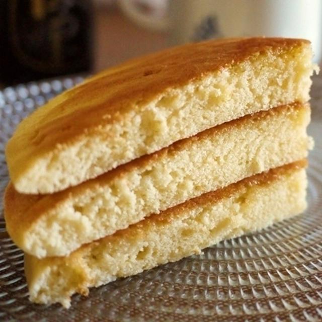 米粉のスフレパンケーキ