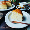 徳島地方は大雪です!と、ふわんしゅわ~ん♪我が家自慢のスフレチーズケーキ♪