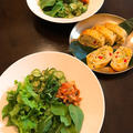 夏のヘビロテごはん。炒め胡瓜のナムルで「グリーンビビンバ」。