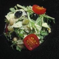 ♡湯葉と水菜のビーンズサラダ♡