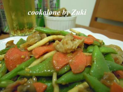 >芸豆(モロッコいんげん)の豚味噌炒め by Zukiさん