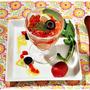 簡単■パプリカムース トマトのマリネをのせて■TVご紹介レシピ♪(・∀・)ノ