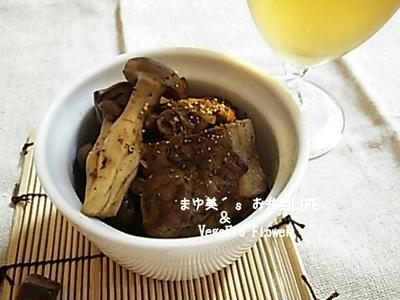 【お肉レシピ】鶏レバーとしめじのソース 炒め
