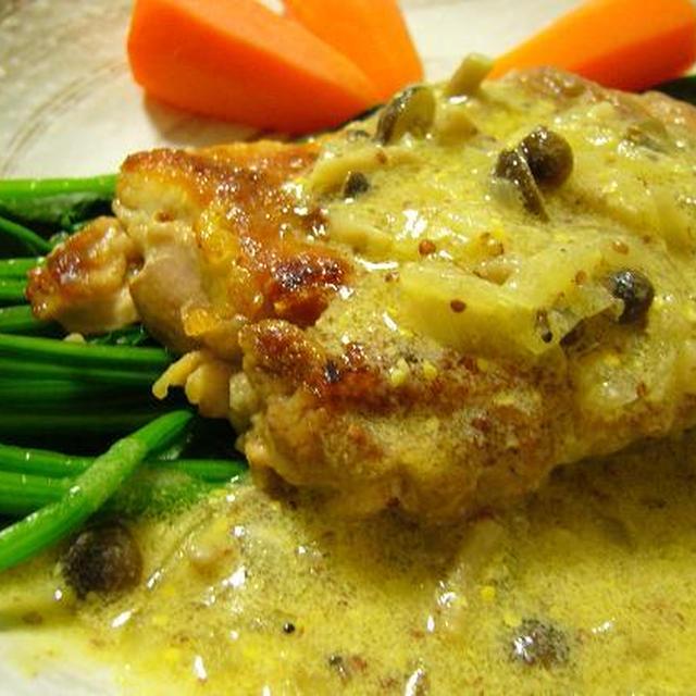 鶏のマスタードソース~今日の夕飯~
