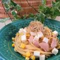みょうがとクリームチーズの冷製パスタ by BiBiすみれさん
