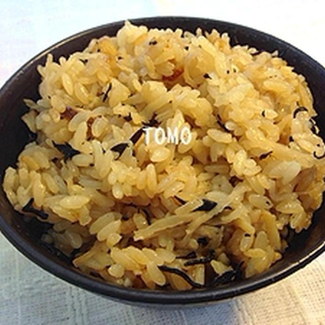 麺つゆで♪切り干し大根とひじきの炊き込みご飯