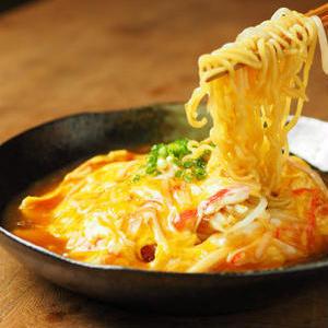 「天津飯」を麺料理にアレンジ!ふわとろおいしい♪「天津麺」