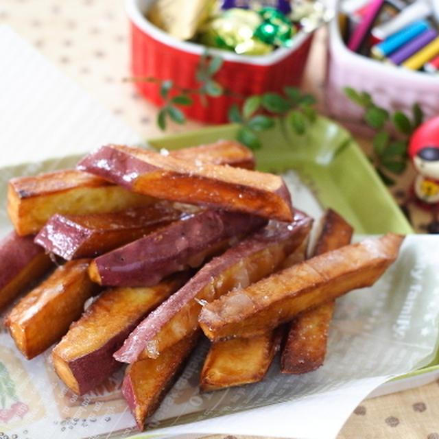 candied sweet potato スティック大学芋