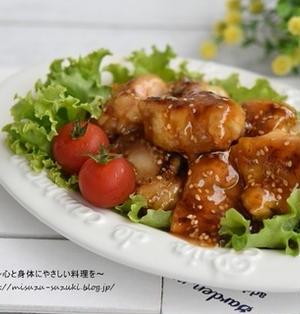 肉汁ジューシーでボリューム満点*後味さっぱり鶏もも肉の甘酢あん