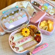 最近の幼稚園弁当 すみっコいっぱい♡