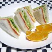 卵サンド(焼いたタイプ)