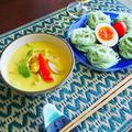 豆乳つけ素麺