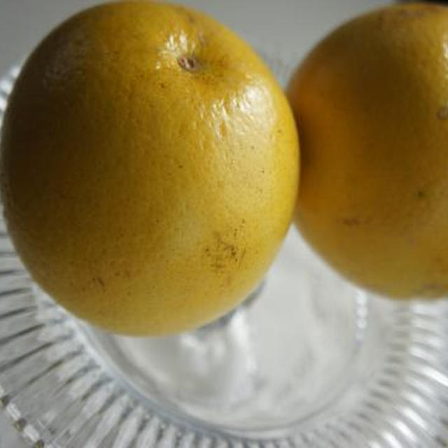 オレンジ?みかん?黄金柑でスムージー