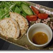 メカジキのソテー サラダ仕立て 梅ドレッシング