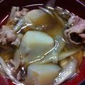 秋だ!山形の芋煮鍋だっぺー!