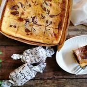 【簡単!バレンタインレシピ】ミキサーで簡単!マーブルチョコチーズケーキ