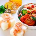 【クリスマス料理】ミートボールとブロッコリーのトマト煮と食パンをプレゼントにアレンジ by 和田 良美さん