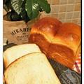 はるゆたか・白神こだま酵母で山型食パン~♪♪