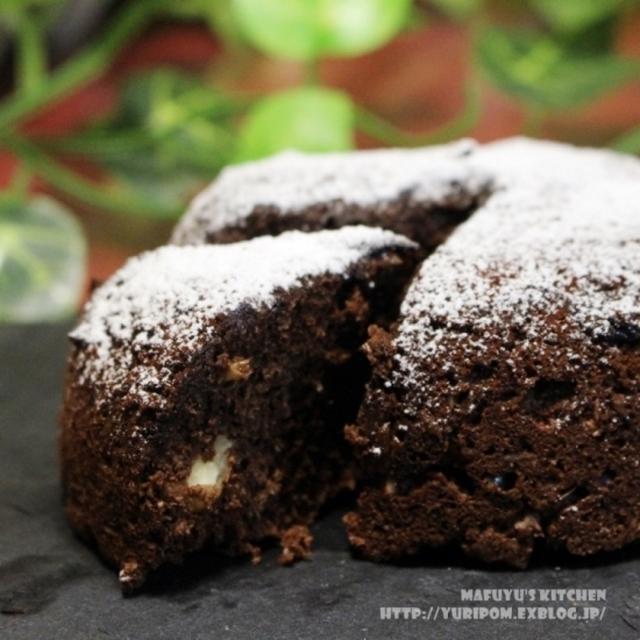糖質オフ♪ ~ 3分で…おからチョコケーキ。
