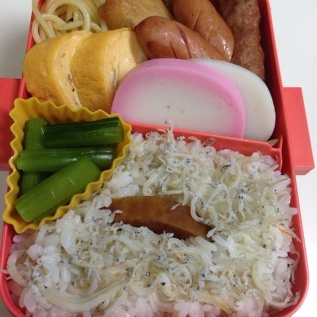 2016.1.5(火)仕事始めのお弁当♪