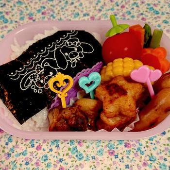 7月の幼稚園弁当