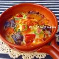 夏野菜ドリア♡簡単ホワイトソースと冷やご飯deバターライス♪