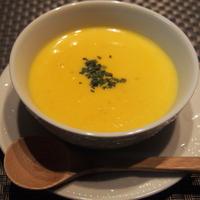 サフラン香る 春色スープ♡