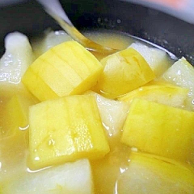 夏のごちそう☆加茂瓜(冬瓜)の塩麹煮