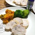 ■スパイスでお料理上手♡簡単レシピでHAPPYハロウィン「鶏むね肉のシンプルロール焼き」