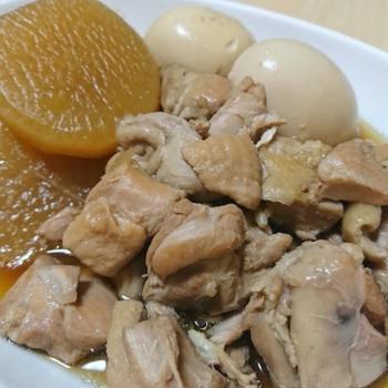 簡単!ご飯が進む!大根と鶏肉の甘辛煮のレシピ