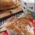 今度はイーストで☆くるみ三角ちぎりパン♪ by チビくま母ちゃんさん