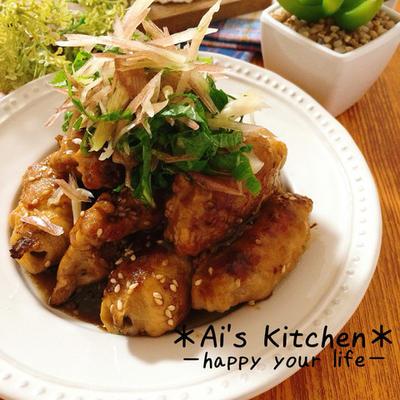 簡単肉巻き夏レシピ♡薬味たっぷりでさわやか♡ズッキーニの肉巻きわさびポン酢♡