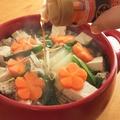 もやしでカサ増し!豆腐と鯖水煮缶の中華風鍋