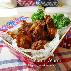 鶏手羽を使えば節約に!漬けて焼くだけの簡単「タンドリーチキン」