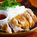 炊飯器で簡単!シンガポールチキンライス by みぃさん