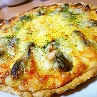 【GABANローズマリー☆レシピ】牡蠣とベーコンのキッシュ