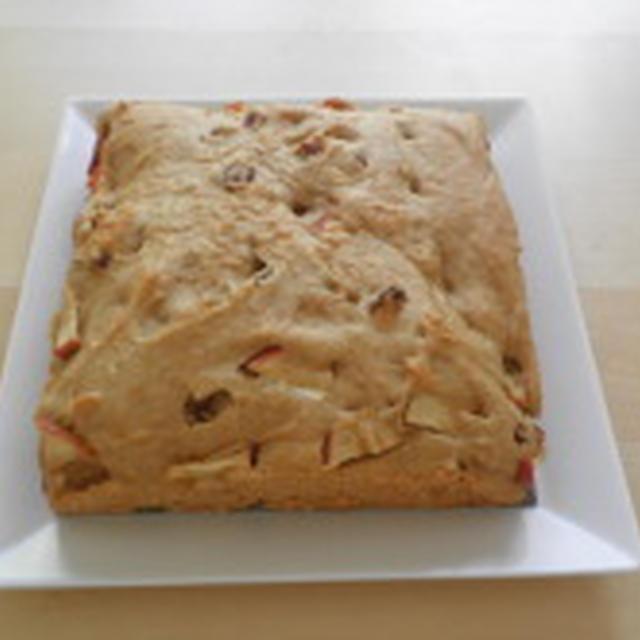 レシピ*りんごとレーズンのケーキ