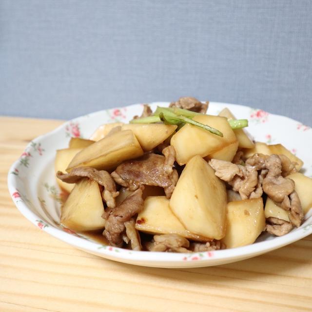 【おうちデリレシピ】かぶと豚のトロトロ炒め