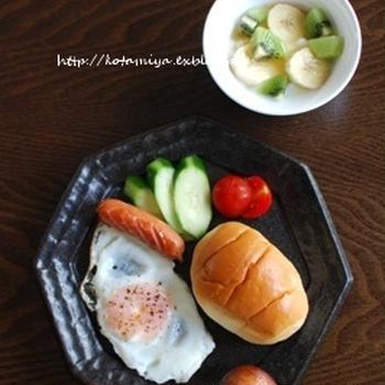 【朝ご飯と晩御飯】