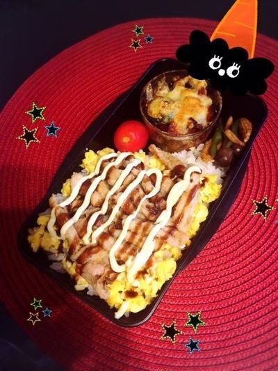 豚玉丼☆野菜のココット☆弁当