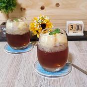 桃と紅茶のゼリー